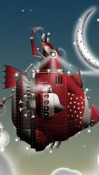 Christmas Crazy Android Mobile Phone Wallpaper