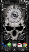 Steampunk Clock Android Mobile Phone Wallpaper