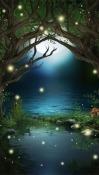 Fireflies Motorola Moto G7 Plus Wallpaper