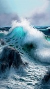 Ocean Waves verykool s6005X Cyprus Pro Wallpaper