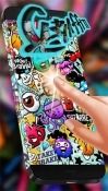 Graffiti Wall Samsung Galaxy J7 Max Wallpaper