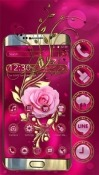Luxury Vintage Rose QMobile NOIR A9 Wallpaper
