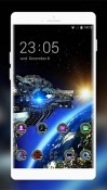 Space Galaxy 3D By Mobo Theme Apps Team Android Mobile Phone Wallpaper