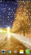 Snowy Night Samsung Galaxy J7 Duo Wallpaper