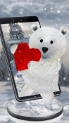 Teddy Bear: Love 3D Android Mobile Phone Wallpaper