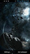 Asteroids ZTE Axon M Wallpaper