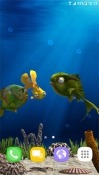 Aquarium Fish 3D Samsung Galaxy J7 Duo Wallpaper