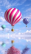 Air Balloons Nokia 7.1 Wallpaper
