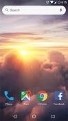 Clouds Huawei nova 5z Wallpaper