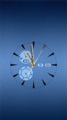 Clock: Real Time Android Mobile Phone Wallpaper