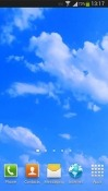 Blue Sky Android Mobile Phone Wallpaper