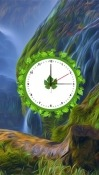 Nature: Clock Alcatel Idol 5 Wallpaper