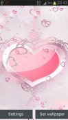 Pink Hearts Samsung Galaxy Tab S4 10.5 Wallpaper