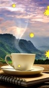 Cup Of Coffee Huawei MediaPad T5 Wallpaper