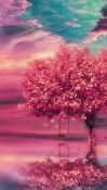 Pink Tree Motorola One (P30 Play) Wallpaper