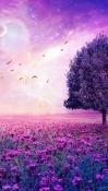 Purple Tree Celkon A359 Wallpaper