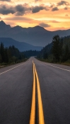Road Lenovo M10 FHD REL Wallpaper