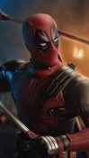 Deadpool Motorola Moto Z4 Force Wallpaper