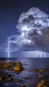 Lightening Huawei P40 lite 5G Wallpaper