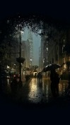 City Rain Huawei nova 5i Pro Wallpaper