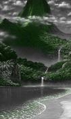 Waterfall HTC Desire 12s Wallpaper