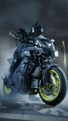 Motorcycle Samsung Galaxy M01 Wallpaper