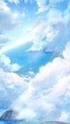 Clouds Lenovo Tab3 10 Wallpaper