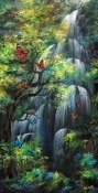 Waterfall Celkon Q3K Power Wallpaper