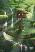 Tree House Alcatel Go Flip 3 Wallpaper